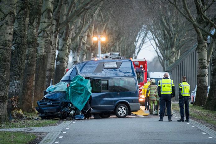 Door het dodelijke ongeval was het Oostromsdijkje lange tijd afgesloten voor alle verkeer.