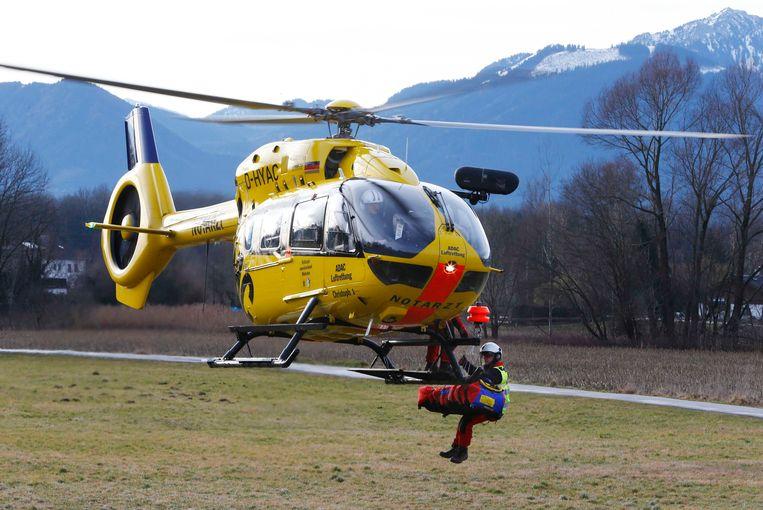 Een Duitse reddingshelikopter (archieffoto)