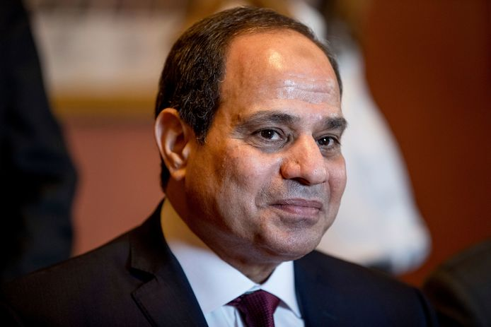 Huidig president van Egypte Abdel Fattah Al-Sisi zou de geheime agenten aansturen.