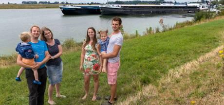Vakantie op 'watercamping' in Maas