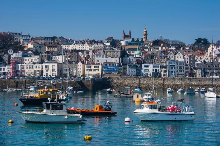 Saint Peter Port, Guernsey. Beeld BELGAIMAGE