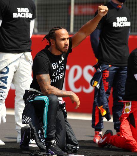 Nieuwe F1-baas wil coureurs als rolmodellen: 'Lewis is een geweldige ambassadeur'