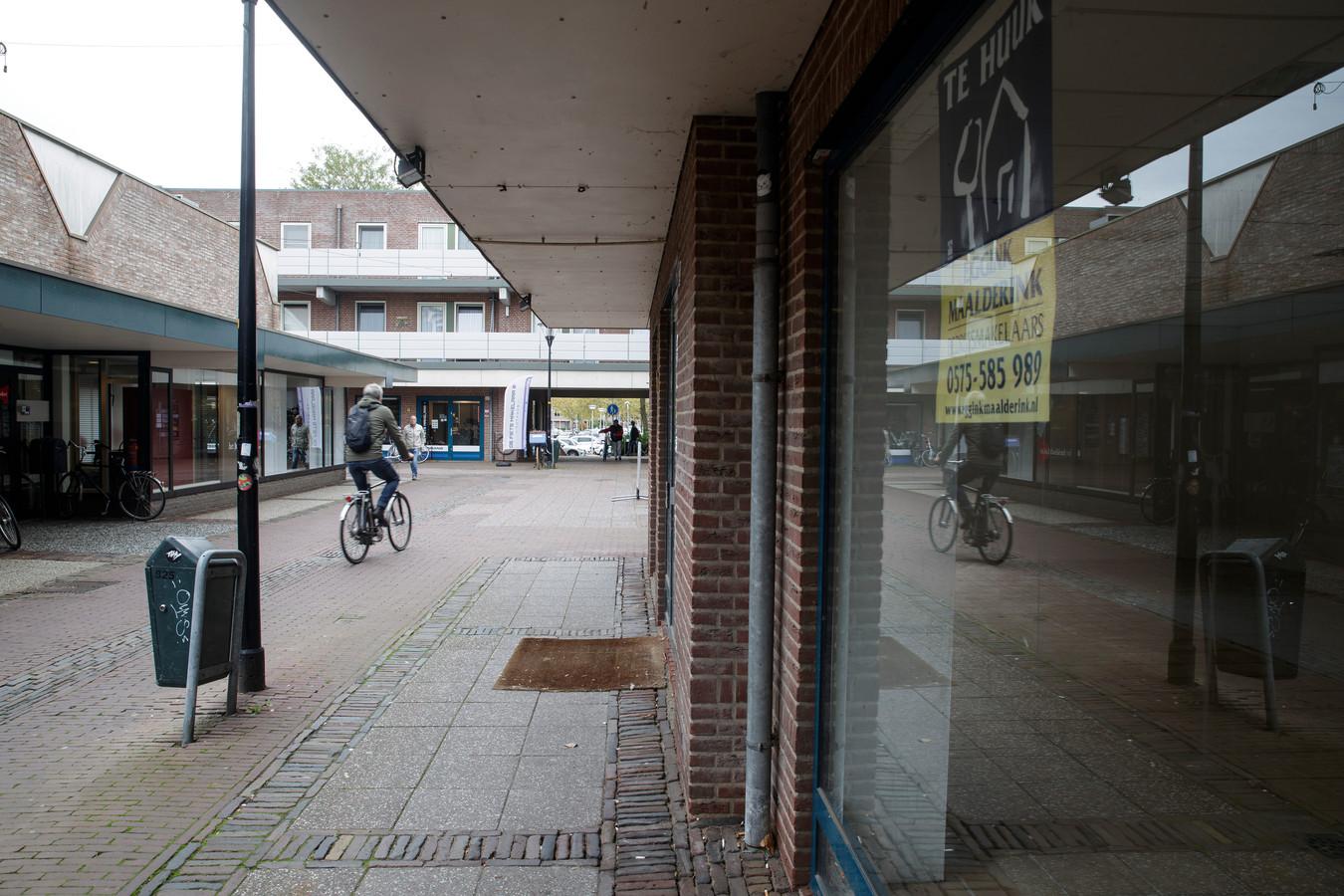 Leegstaande panden en graffiti in de Polsbroekpassage, één van de volgende projecten om de binnenstad in Zutphen te verbeteren.