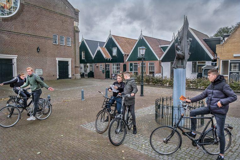 Urk heeft het hoogste geboortecijfer en de jongste bevolking van Nederland. Beeld Tim Dirven