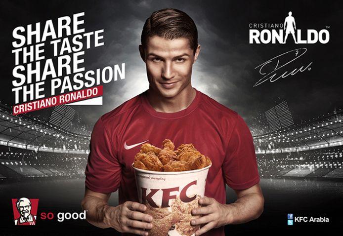 Cristiano Ronaldo égérie de KFC au début de sa carrière