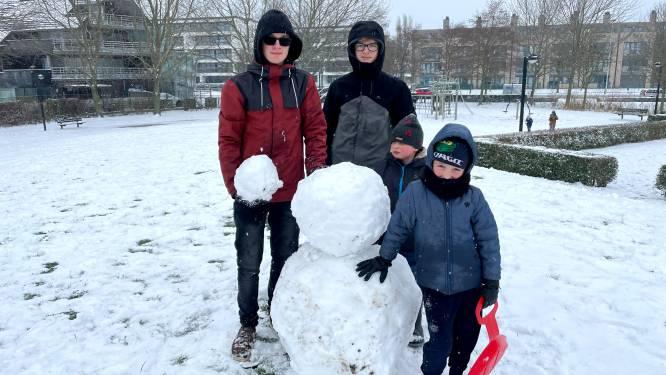 IN BEELD: Zo genoten jullie van de sneeuw