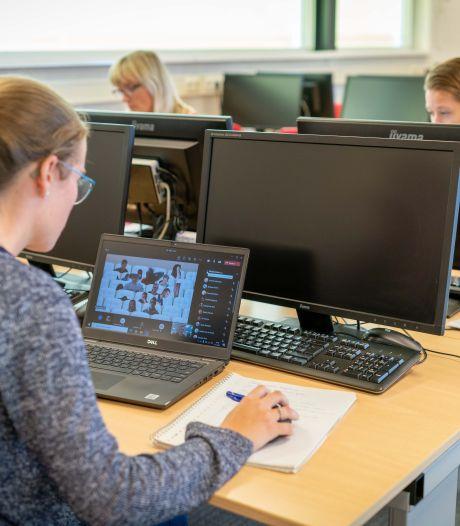 Leerlingen van het HPC in Zetten maken thuis een proefwerk Frans. Met een beetje hulp van Google Translate?