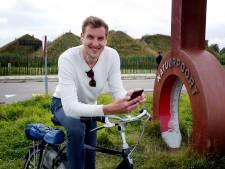 Verslaggever Gijs fietst met nieuwe app de Biesbosch door: 'Ingesproken door een uitgebluste lerares?'