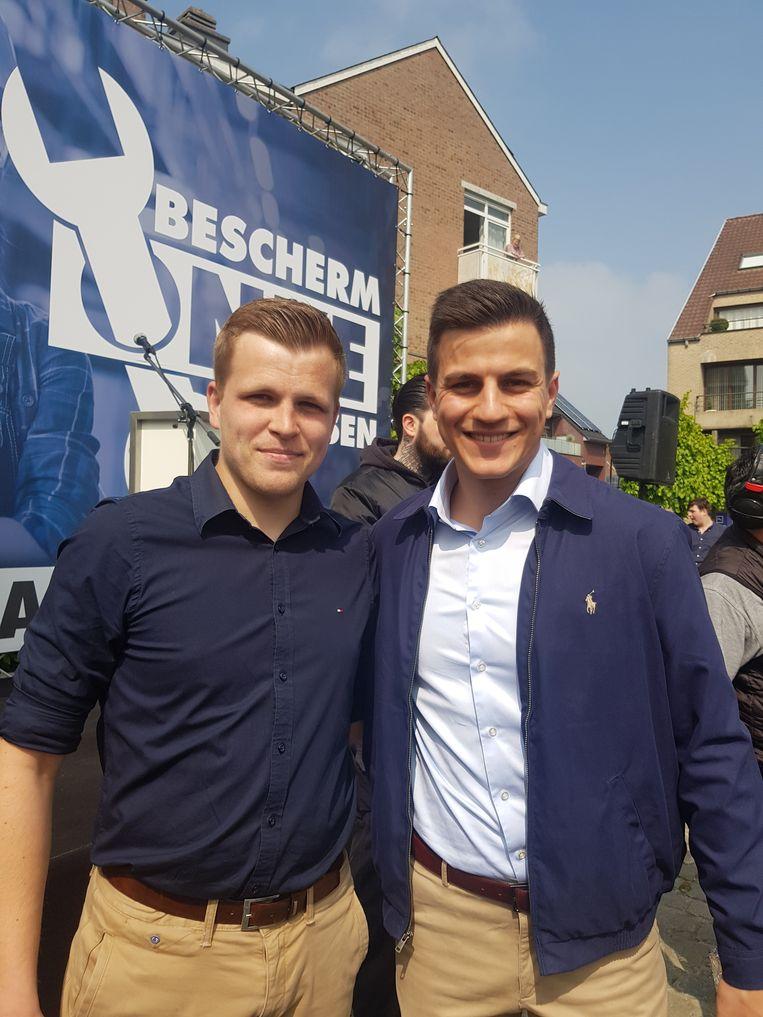 Glenn Schockaert (links). Beeld RV