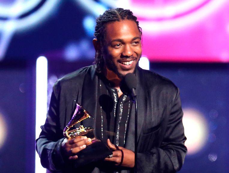 Rapper Kendrick Lamar won met 'Damn' eerder ook al de Grammy-award voor het beste rapalbum. Beeld Matt Sayles/Invision/AP
