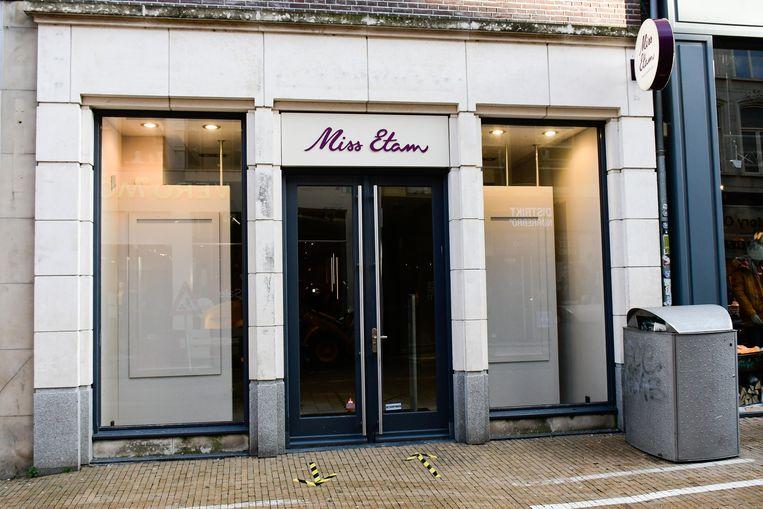 De Miss Etam in Groningen is momenteel gesloten vanwege de lockdown. Beeld Hollandse Hoogte / ProNews Producties