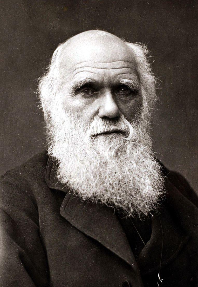 Charles Darwin, (1809-1902), is de grondlegger van de evolutietheorie. Beeld Popperfoto via Getty Images