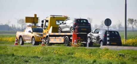 Automobilist (61) gewond bij botsing in Poortvliet