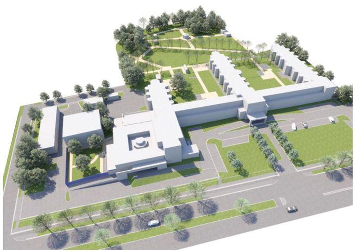 Het huidige woonzorgcentrum Sint-Jozef