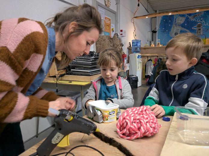 Geraardsbergen: Workshop STEM voort kleuters bij Astertechnics.