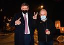 """Jan Jambon en Herman Schueremans vorige vrijdag bij de start van 24 UUR LIVE: """"De overheid kon ons geen duidelijk kader geven waarbinnen we Werchter 2021 konden organiseren. Maar ik verwijt de politici en de virologen niets. Die mensen kunnen niet toveren."""""""