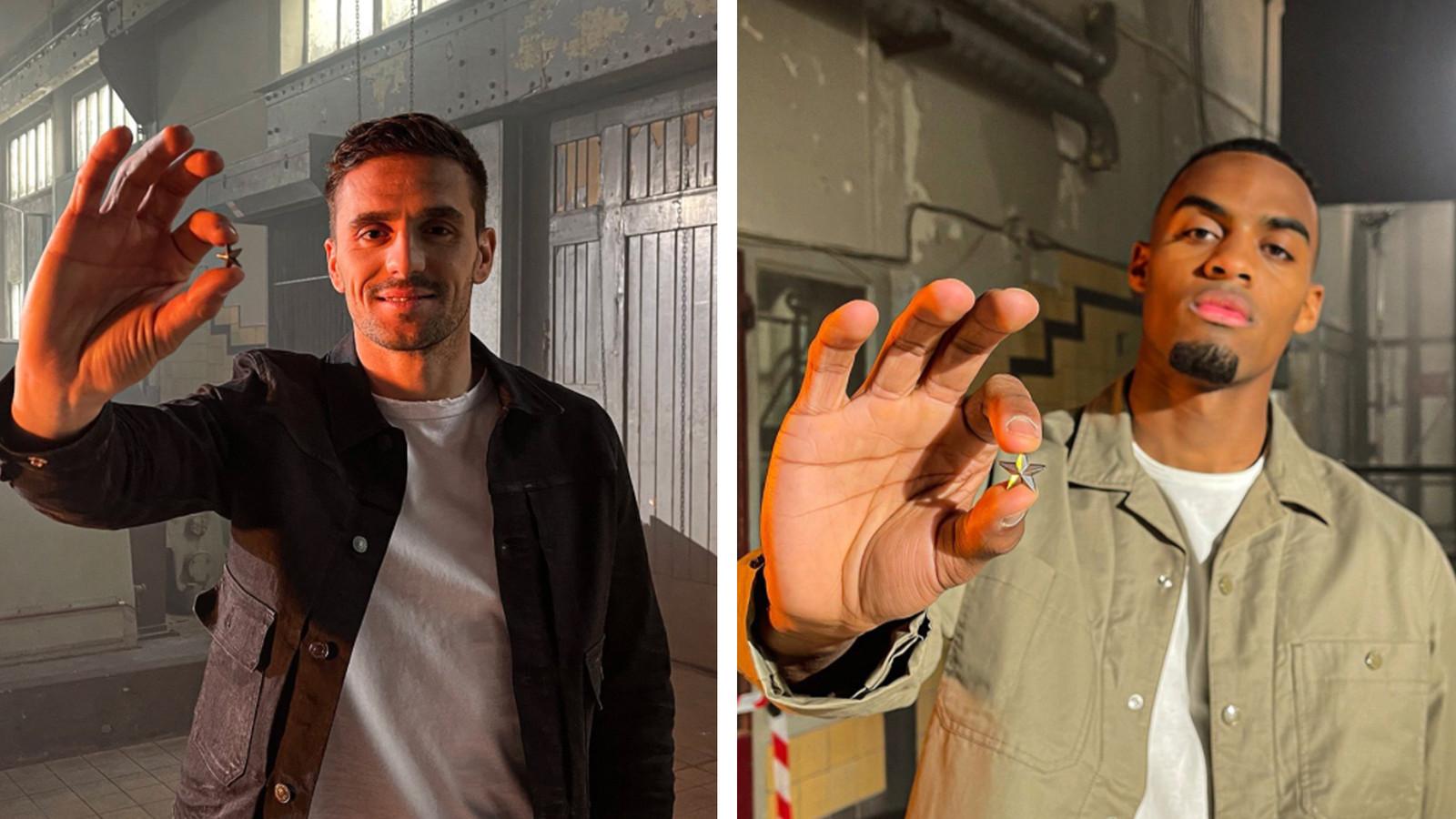 Dusan Tadic et Ryan Gravenberch.