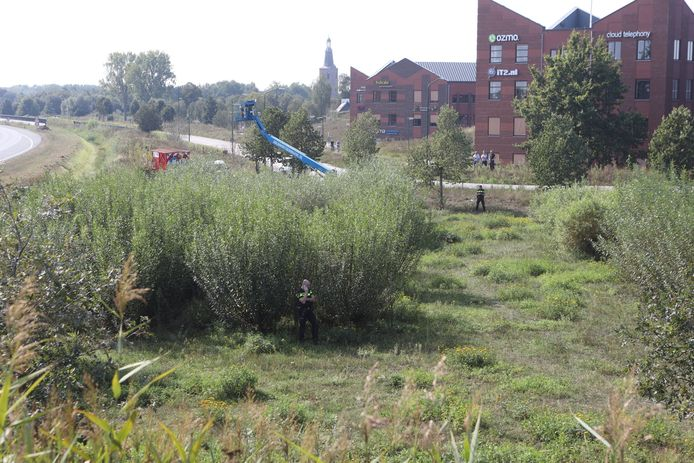 Grote zoektocht bij A50 Sint-Oedenrode.