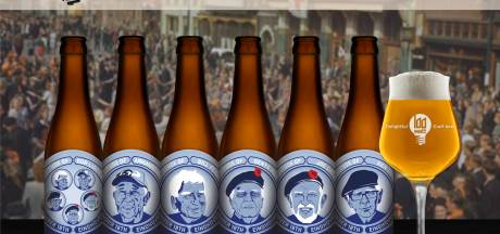 Bevrijdingsbier Eindhoven met veteranen op etiket