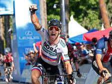 Sagan sprint naar zege in openingsrit Californië