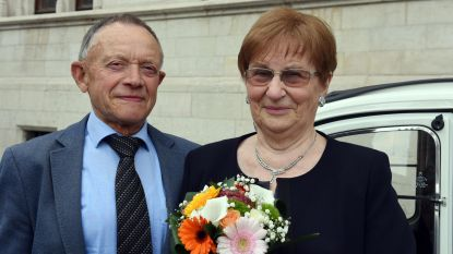 Lodewijk en Marie 60 jaar gehuwd