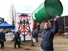 Bewoners Woerden voeren actie tegen gasvelden