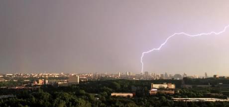 Alerte orange aux orages sur tout le pays
