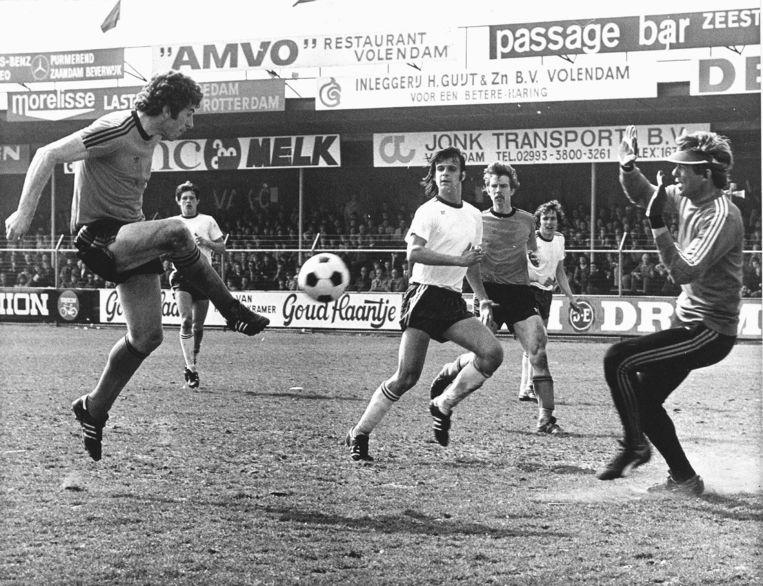 Frank Kramer als aanvaller van FC Volendam.  Beeld Hollandse Hoogte /  ANP