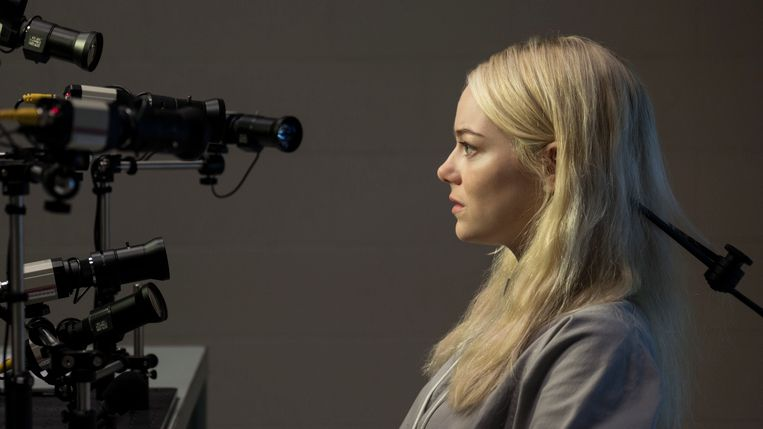 Emma Stone. Beeld Netflix