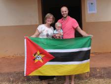 Pas geëmigreerd gezin stort zich op hulpverlening na orkaan in Mozambique
