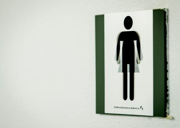 In genderneutrale toiletten wordt geen onderscheid gemaakt tussen sekse.