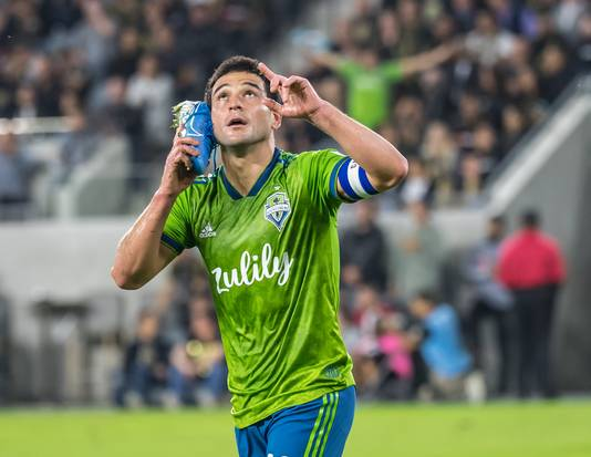 Nicolás Lodeiro (ex-Ajax) is de grote ster bij Seattle Sounders.