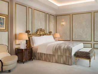 Zo ziet de kamer van de vermeende 'golden showers' eruit