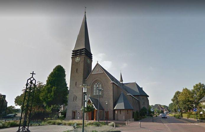 De kerk in Geesteren.