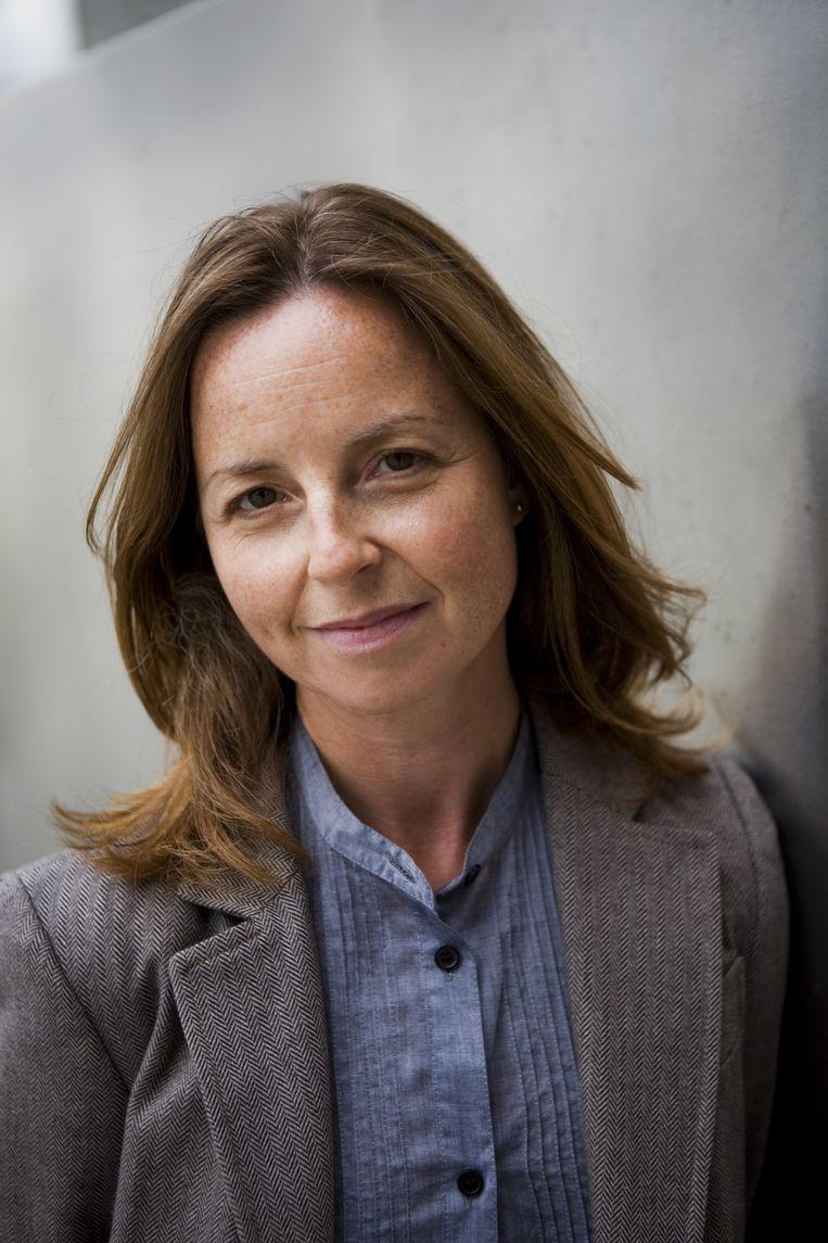 Barbara Visser, voorzitter Akademie van Kunsten. Beeld KNAW