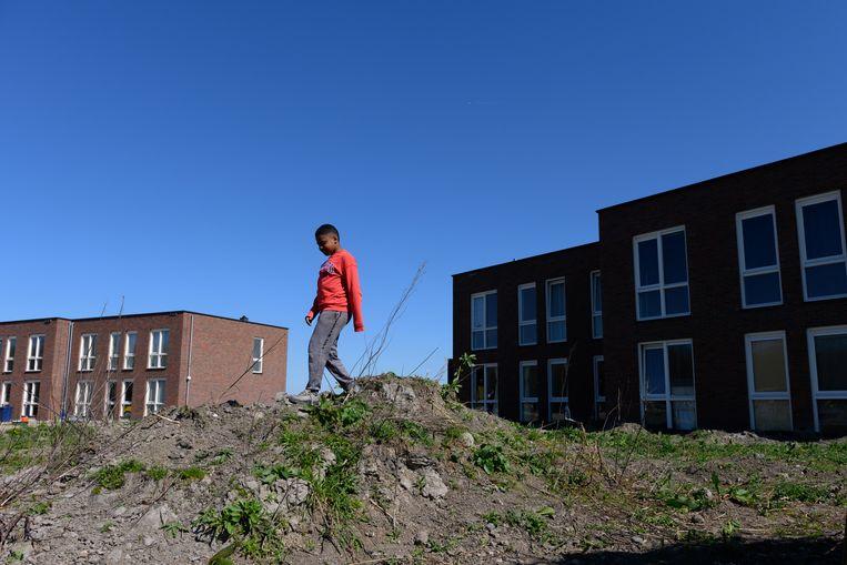 Het idealistische woonproject Diamondiaal in Almere. Beeld