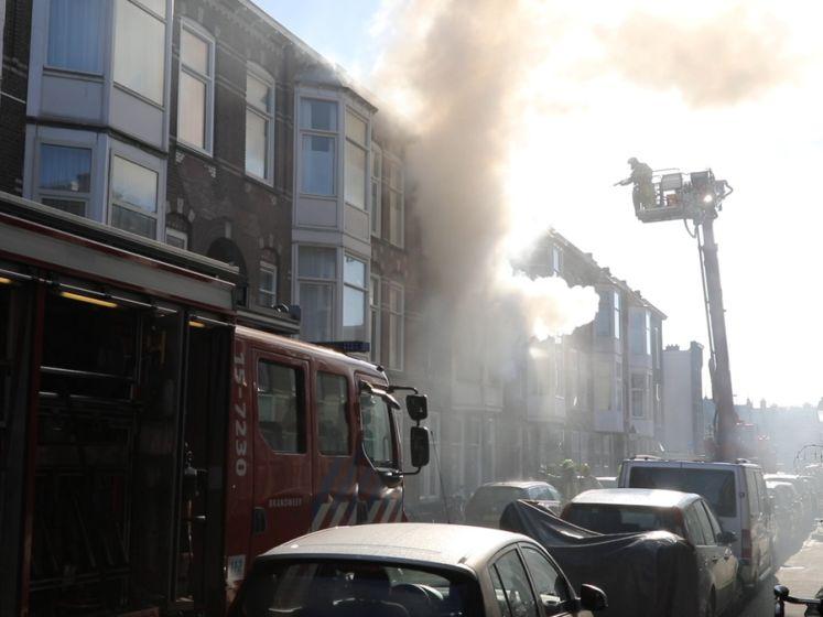 Grote brand in Haagse Ampèrestraat: drie woningen onbewoonbaar