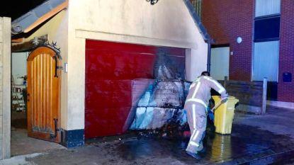 Kleine brandstichting aan garage in Stabroek