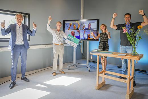 Een team van de HAN University of Applied Sciences heeft met de online gehouden Cleantech Battle 2021 gewonnen.