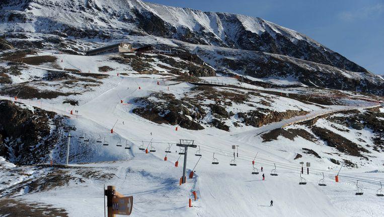 Skigebied Les Deux Alpes. Beeld AFP