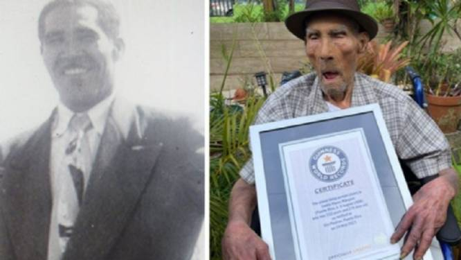 Dit is Emilio (112), de oudste man ter wereld: 'Hij geniet van het leven'