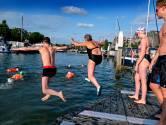 Eerste trainingsmeters in de haven voor vijfde City Swim