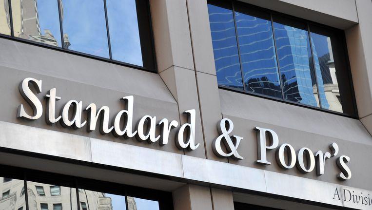 Het hoofdkantoor van S&P in New York. Beeld AFP