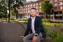 Faissal Boulakjar, Tweede Kamerlid voor D66 aan de Nieuwe Mark in Breda.