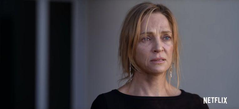 Beeld van Uma Thurman in 'Chambers'. Beeld Netflix