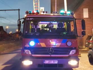 Brand in autowerkplaats achter woning langs Spoorstraat