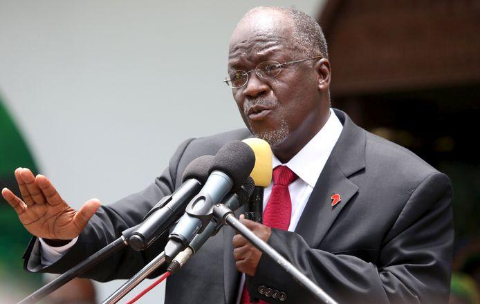 PresidentJohn Magufuli