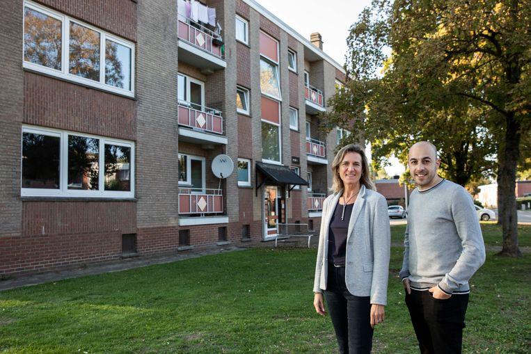 Myriam Indenkleef en Alessandro Cucchiara, respecrievelijk directeur en voorzitter van Nieuw Dak stellen eerste ondergronds warmtenet voor.