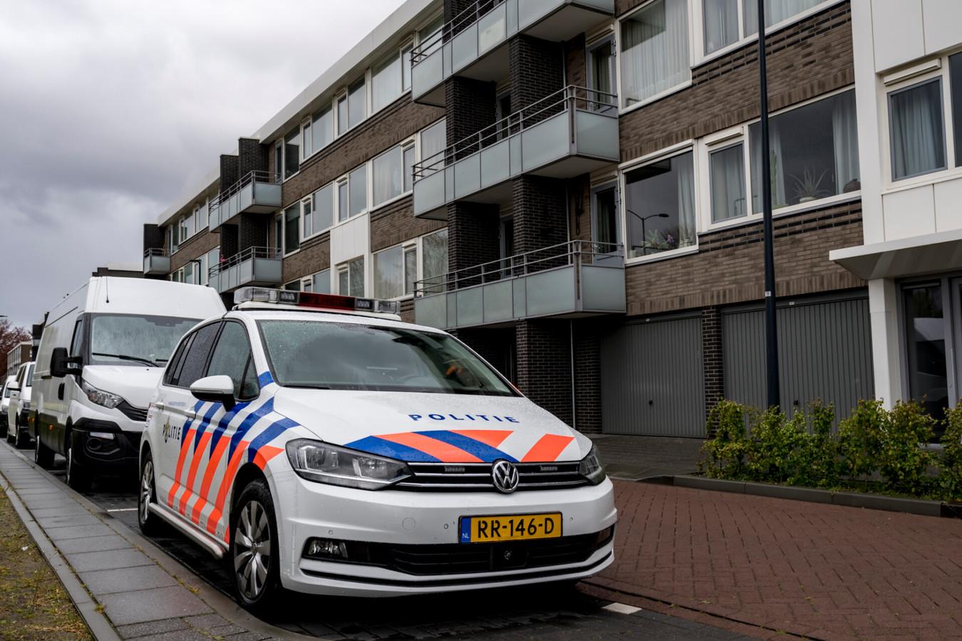 Grote drugsvangst bij de Doctor Janssenslaan in Oosterhout.