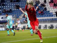 Robbin Ruiter na 'keeperssoap' afwezig bij Willem II